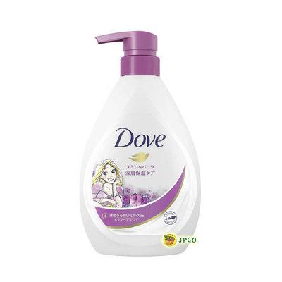 【JPGO】日本製 Dove 多芬 深層保濕沐浴乳 長髮公主限定包裝 500g~紫羅蘭香草#133