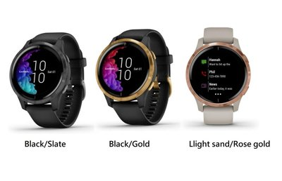 Garmin Venu Smartwatch AMOLED GPS智慧腕錶智能運動腕錶(英文版),Pulse Ox脈搏血氧感測,Garmin Pay,播放音樂