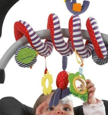*meeting遇見*~【寶寶床邊嬰兒車風鈴玩具固齒器組】(現貨)