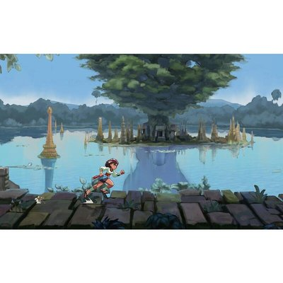 《墾丁老街》PS4游戲 形影不離 心有靈犀 密不可分 Indivisible 特典 中文現貨