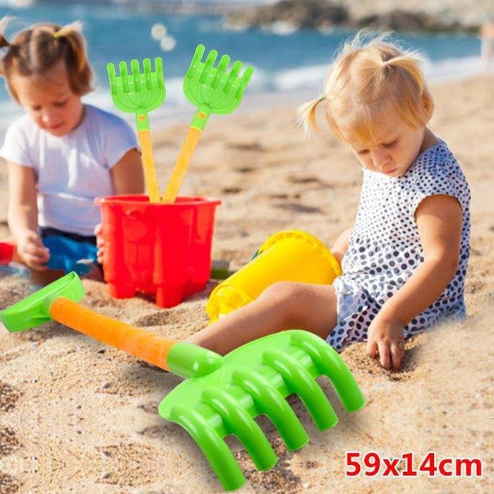 沙灘鏟耙子加厚大號戲水兒童玩具沙灘套裝寶寶玩沙挖沙工具男孩