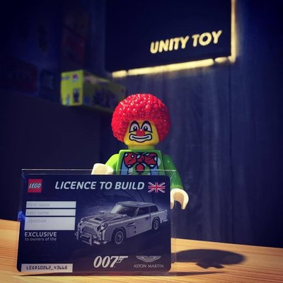 Lego 5005665 10262 James Bond Aston Martin DB5 Licence to Build (Unity Toy)