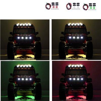DJ AXIAL SCX10 III 三代JEEP牧瑪人輪眉燈 氣氛燈 底盤燈 裝飾燈