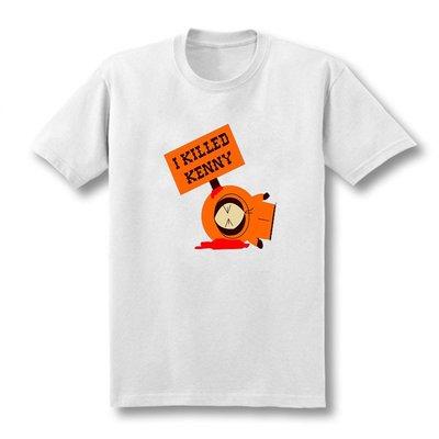 【蠟筆小明服飾】新款South Park I Killed Kenny 南方公園肯尼短袖純棉寬松T恤