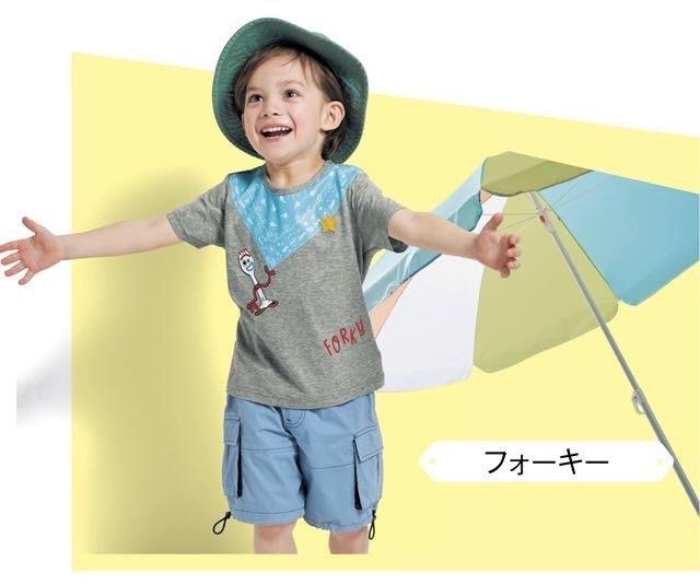 Co媽日本精品代購 預購 日本 正版 迪士尼 最新 純棉 T恤 童裝 90~140