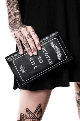【丹】KS_Kill List Book Wallet 死亡筆記本 人們必須死 長夾 皮夾