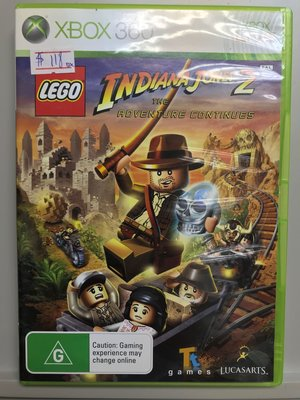 二手 Xbox Xbox360 LEGO Indiana Jones 2 奪寶奇兵 歐版 PAL 制式
