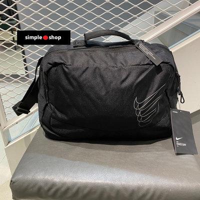 【Simple Shop】NIKE RUN MINIMAL 運動提袋 旅行袋 側背包 有透氣孔 CN0211-072