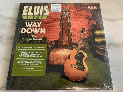 (全新品)貓王 Elvis Presley - Way Down in the Jungle Room 雙碟裝黑膠LP