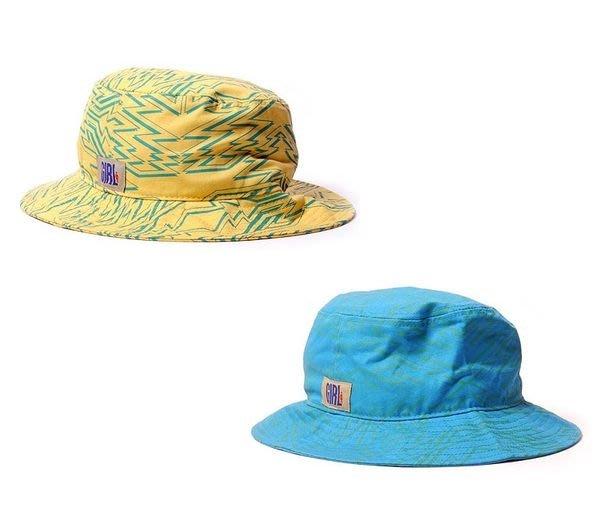 { POISON } GIRL SKATEBOARDS ZIG ZAG BUCKET 玩心鋸齒獨創圖樣 筒型漁夫帽