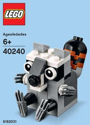 【LEGOVA樂高娃】LEGO 樂高 40240 浣熊 下標前請詢問 新北市