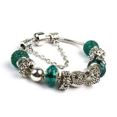 流行奇妙珠手鍊 時尚琉璃珠串珠手鍊流行 DIY飾品yq185
