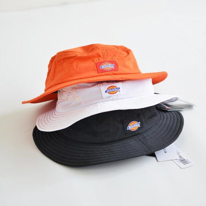 【Wind 】日線 DICKIES 防潑水 漁夫帽 100% 公司貨 LOGO 網眼內理 現貨