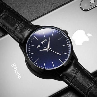 手錶ins極簡風手表簡約 手表男學生手表時尚潮流男表男士石英表皮帶