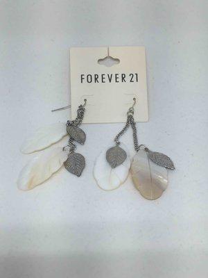 FOREVER21 貝殼系垂吊飾耳環