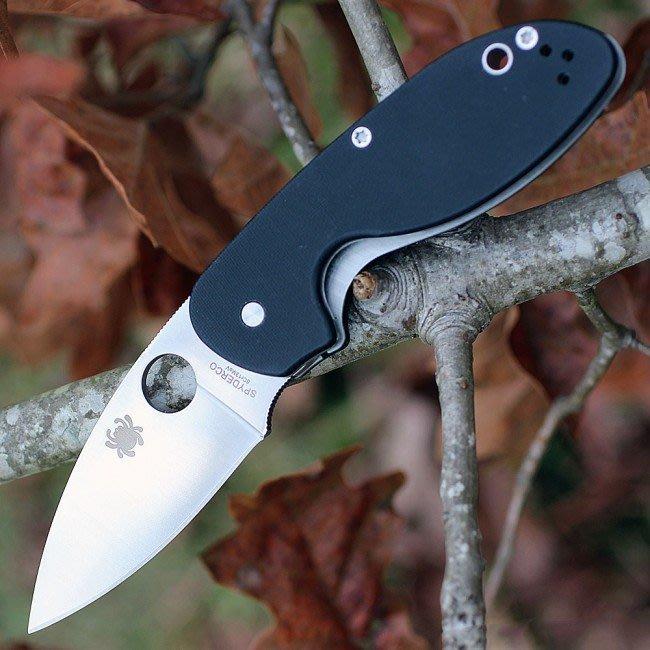 刀品世家 正品蜘蛛 Spyderco Efficient G-10 C216GP 折刀