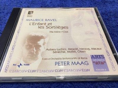 Ravel / L'Enfant et Les Sortilegges & Ma Mere L'Oye / Maag