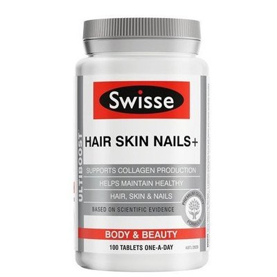 🇦🇺澳洲  Swisse hair skin nails  膠原蛋白 100顆裝