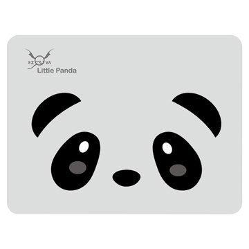 [米特3C數位 岡山實體店面] 竹炭滑鼠墊/熊貓/灰底