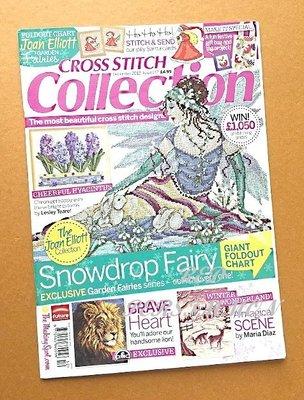 紅柿子【英文彩色版•CROSS STITCH collection 十字繡作品集 Issue 217】全新.