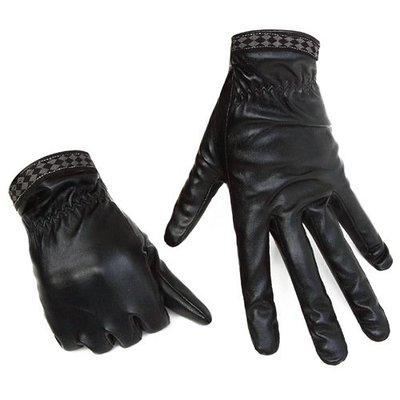 皮手套 機車手套 冬季手套PU仿皮冬季保暖男女款電動車保暖手套yx828