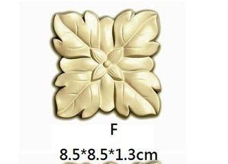 貨號F,定製品,加工噴金色,PU 壁飾-歐洲宮廷式藝術 PU系列-浮雕壁飾 家飾 廚櫃飾花/ 彩繪用 亦可當平線板彎角