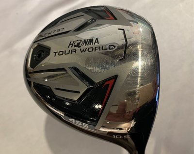 HONMA TOUR WORLDTW737 455一號木桿10.5 SR 非Taylormade Titleist Taylormade M1 M2 M3 M4