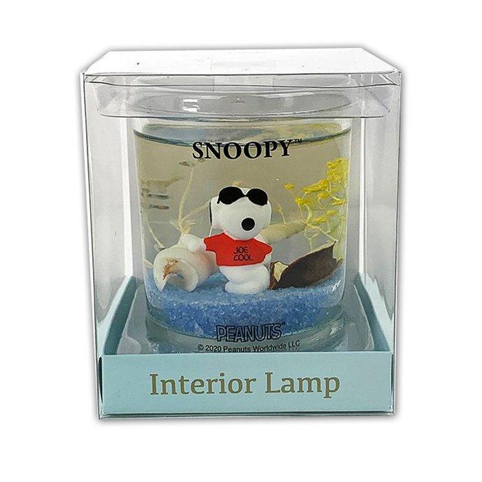 室內裝飾電燈 L 史努比 擺飾 夜燈 LED 日本進口正版授權