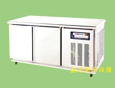 鑫忠廚房設備-餐飲設備:全新TG系列五尺工作檯冰箱-賣場有-西餐爐-快速爐-烤箱-咖啡機