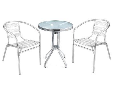 ~*四張以上含運*~ 全不鏽鋼椅 超耐用 可承重120kg 可承受風吹雨淋 戶外椅  休閒椅 白鐵椅 餐椅 洽談椅