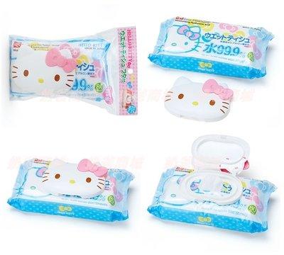 KITTY 80入濕巾 濕紙巾+造型蓋   日本製 奶爸商城 157695 特價  通販