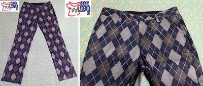 PUMA GOLF高爾夫 運動 長褲 格紋 抗紫外線 –男款【32腰】【有品味 就懂,J&K嚴選】LV來自星星的