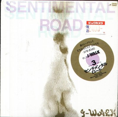 K - J-WALK JAYWALK - SENTIMENTAL ROAD - 日版 CD - NEW