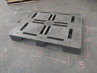 回收塑膠棧板 100*120*15 / 100*120*16 - 玖綸實業有限公司