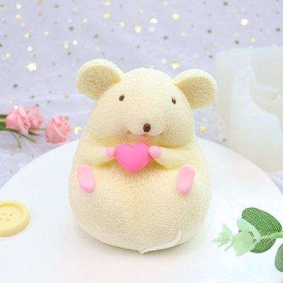 喜洋洋-#先詢價#3D立體小胖鼠慕斯蛋糕硅膠模具卡通老鼠冰淇淋布丁模具diy烘焙(每個圖案價格都不一樣 下標前先詢價!)