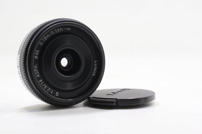 【高雄青蘋果】Panasonic LUMIX 14MM F2.5 G ASPH M4/3 定焦鏡 二手鏡頭 #14609
