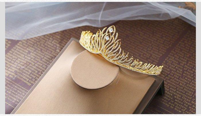 新娘飾品瑪姬主義-  A0085精靈公主皇冠系列--新娘秘書新秘用品婚禮配飾專賣--