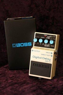 【又昇樂器 . 音響】BOSS DD-3 Digital Delay 數位 delay 單顆 效果器