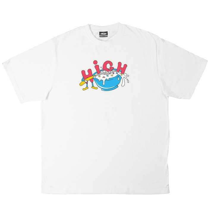 High Company - Cereal Tee White 白色 短TEE 現貨販售