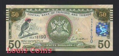 【Louis Coins】B504-TRINIDAD & TOBAGO--2006千里達及托巴哥共和國50 Dollar