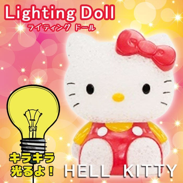HELLO KITTY 公仔造型 電池式 照明 燈 日本帶回 特價商品 小日尼三 41+ 現貨 免運費 不必等