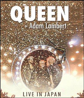 皇后樂隊 Queen Adam Lambert Live Japan 日本演唱會/2014年 25G藍光碟