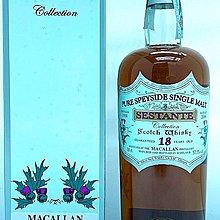 Macallan 1988 18 years Scotch Whisky 700ml Silver Sea 限量 300支