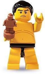樂高 LEGO  8803人偶包 第3代 單賣一隻 相撲