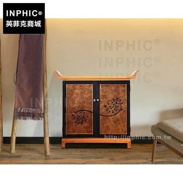 INPHIC-泰式傢俱門廳東南亞中式玄關桌儲物櫃子客廳玄關櫃_FMG3