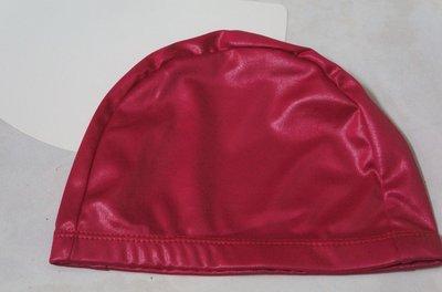 KINI泳具-布泳帽-寬邊(特多龍)-銀河珠光款-珍珠蜜桃紅-一頂50元