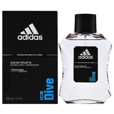 【Orz美妝】Adidas ice dive 愛迪達 絕對無敵系列 品味透涼 運動男性淡香水 100ML