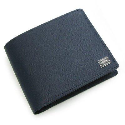 『小胖吉田包』藍色預購 日標 PORTER CURRENT 短夾/皮革製 ◎052-02204◎免運費!
