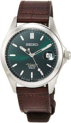 日本正版 SEIKO 精工 SZSB018 機械錶 手錶 男錶 皮革錶帶 日本代購