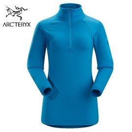 丹大戶外【Arc'teryx】始祖鳥 50131011273AB  女保暖衣 安地列斯島藍